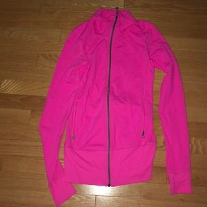 LULULEMON NEON PINK JACKET SIZE 2 NEVER WORN